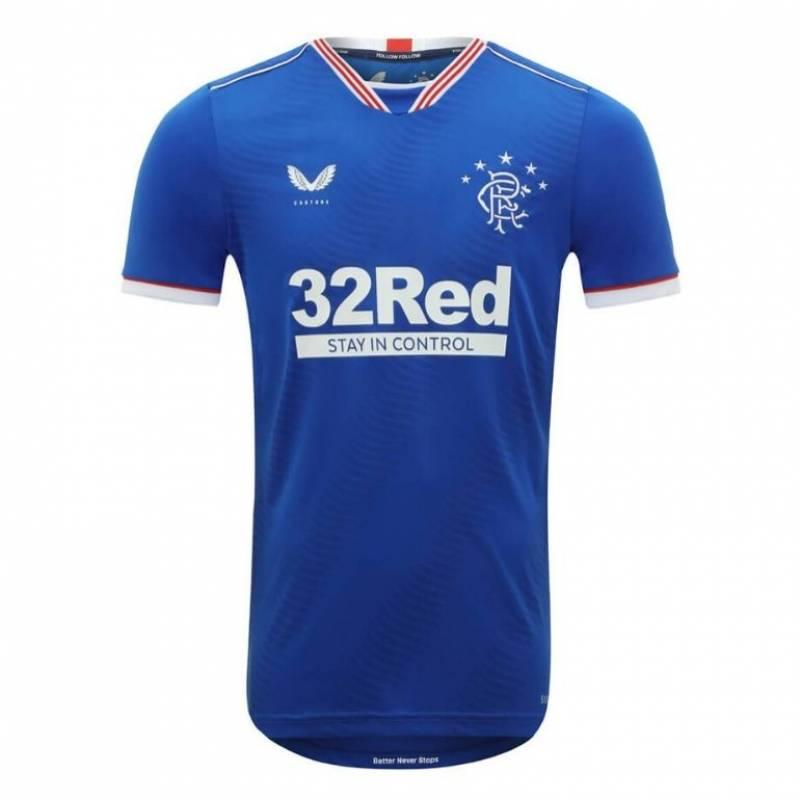 Maillot Glasgow Rangers domicile 2020/2021