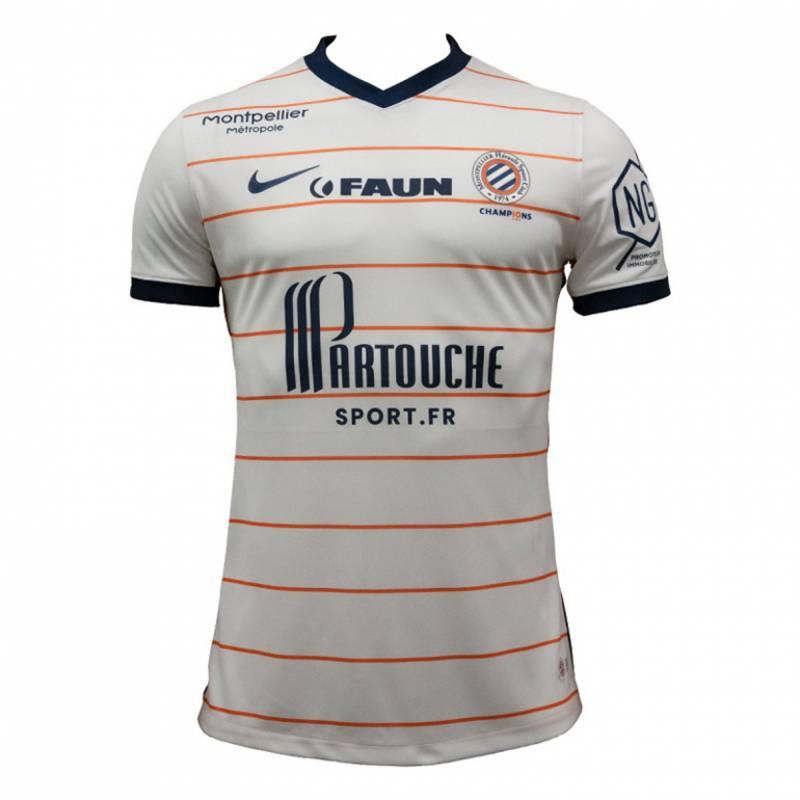 Maillot Montpellier extérieur 2021/2022