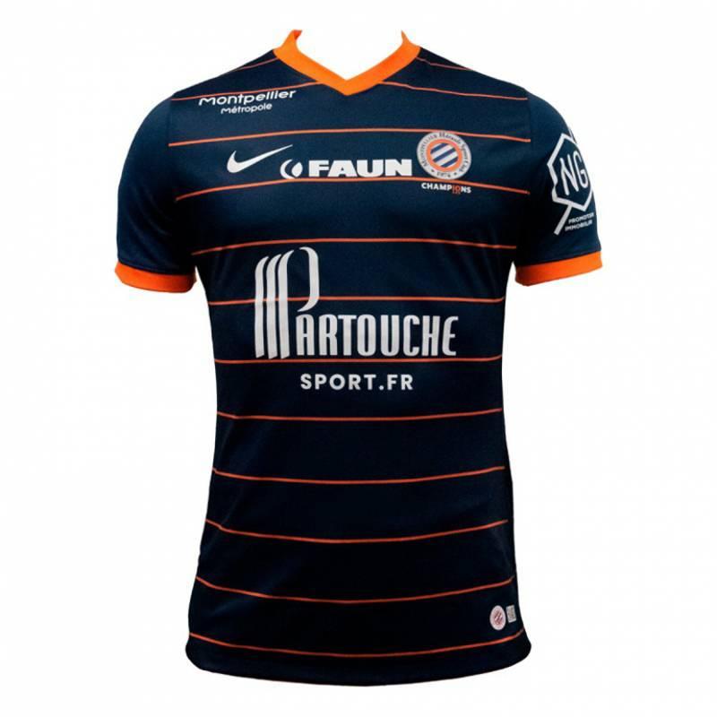 Maillot Montpellier domicile 2021/2022