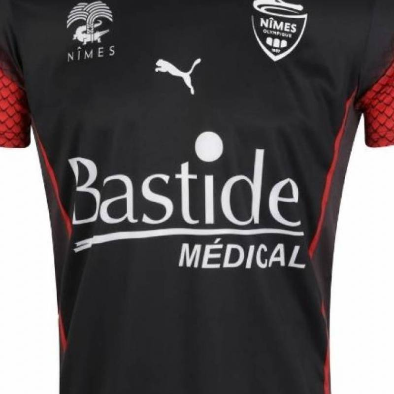 Maillot Nîmes third 2020/2021