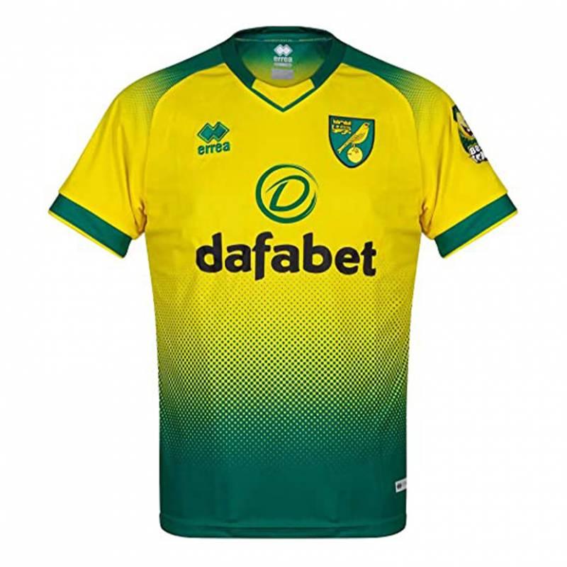 Maillot Norwich City domicile 2019/2020