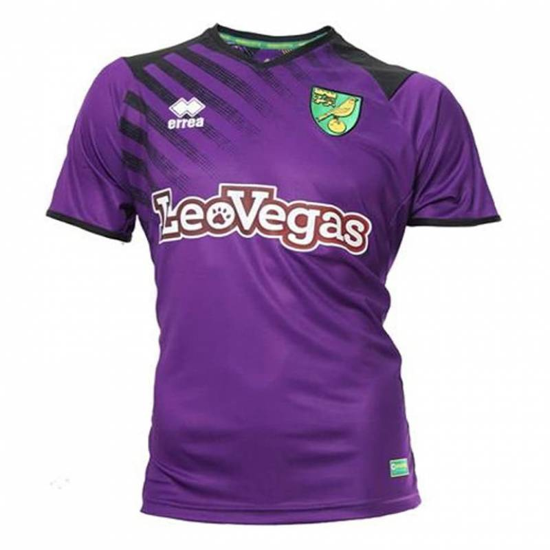 Maillot Norwich City third 2017/2018
