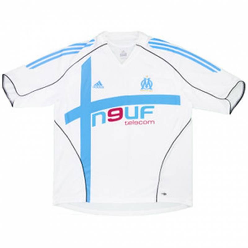 Maillot Olympique Marseille domicile 2005/2006