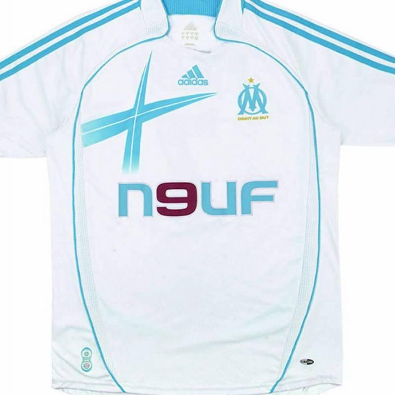 Maillot Olympique Marseille domicile 2006/2007