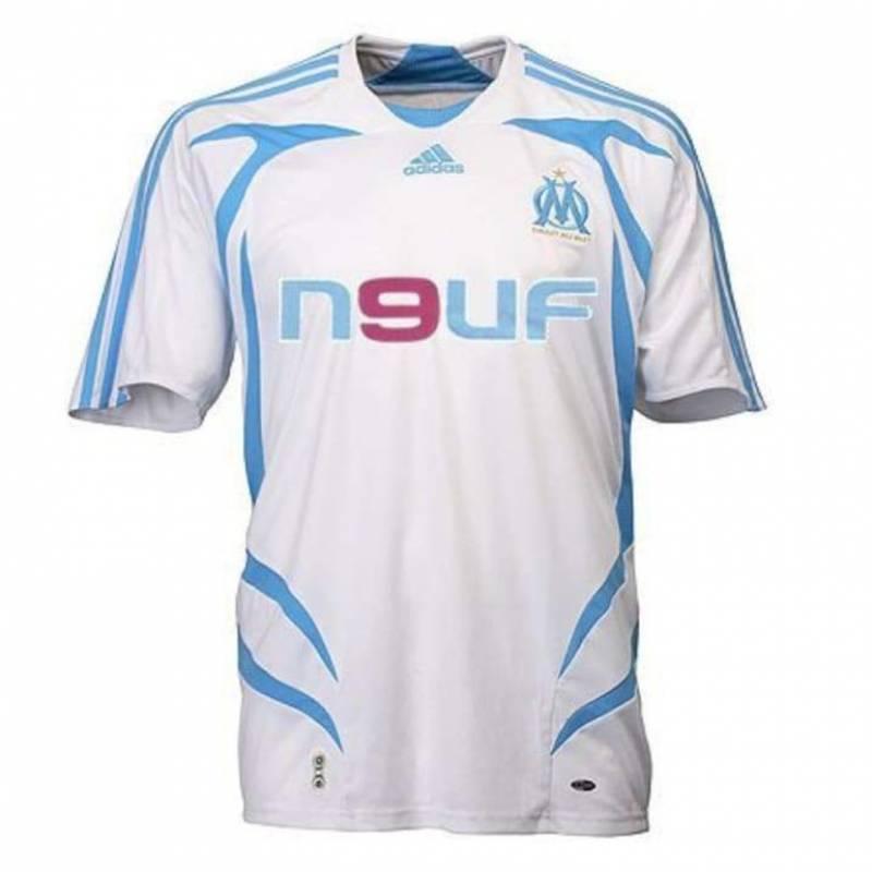 Maillot Olympique Marseille domicile 2007/2008