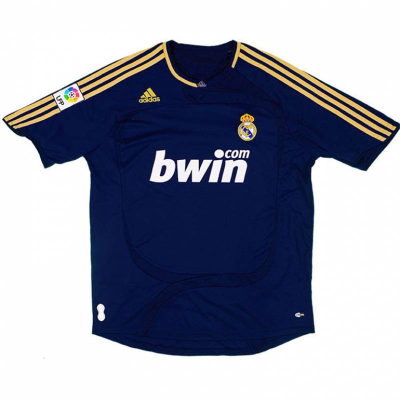 Maillot Real Madrid CF extérieur 2007/2008