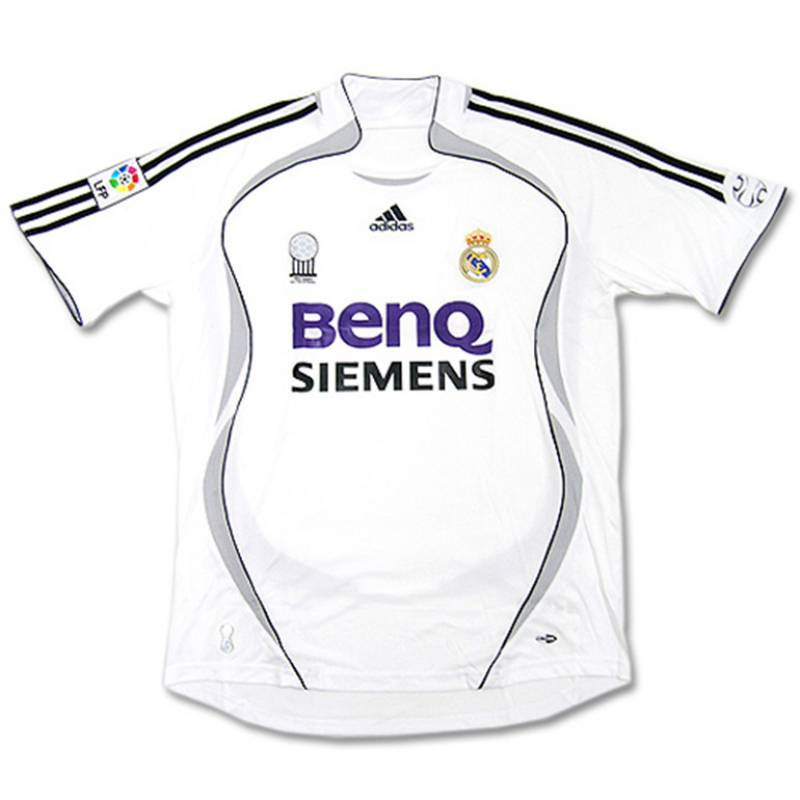 Maillot Real Madrid CF domicile 2006/2007