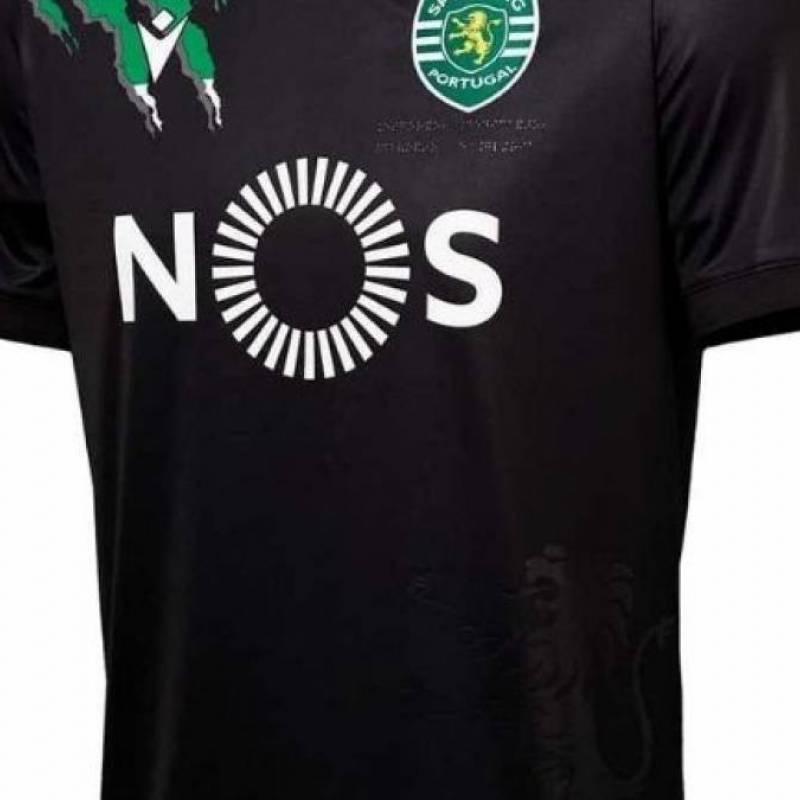 Maillot Sporting Clube de Portugal extérieur 2020/2021