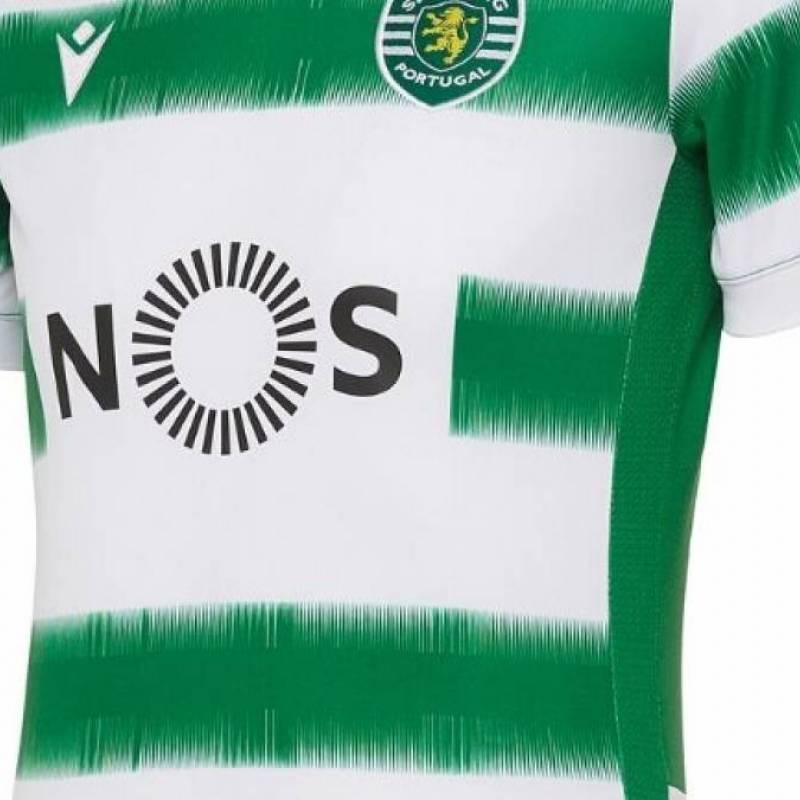 Maillot Sporting Clube de Portugal domicile 2020/2021