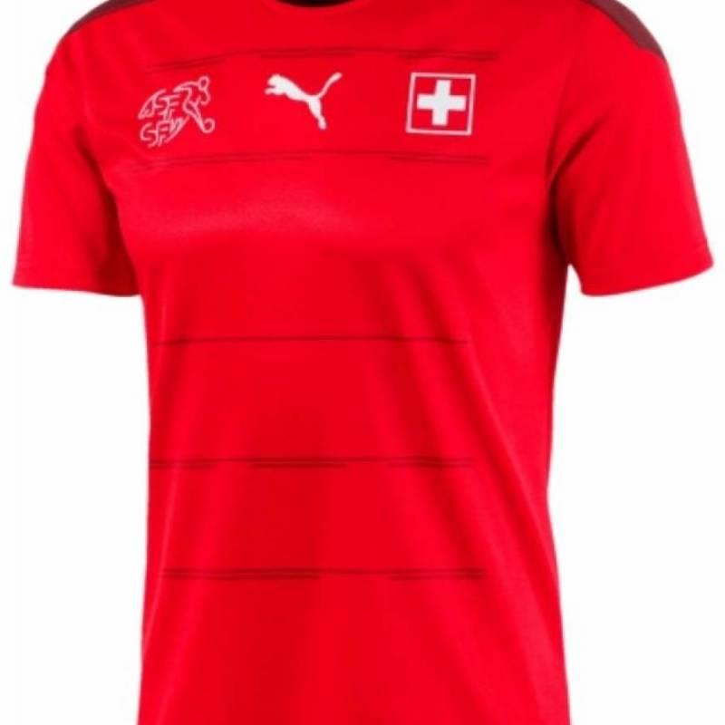 Maillot Suisse domicile 2020
