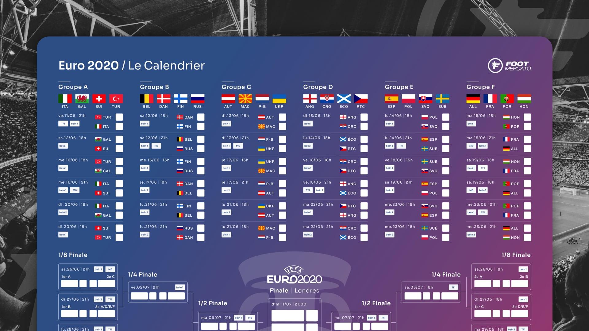 rencontre du jour euro 2021)